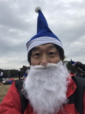 第1回谷川真理クリスマスマラソンハーフマラソン自撮り