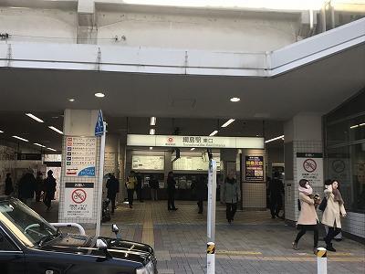 第2回UP RUN綱島鶴見川ウインターマラソン綱島駅