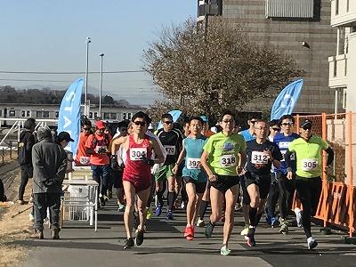 第2回UP RUN(アップラン)綱島鶴見川ウインターマラソン30キロスタート