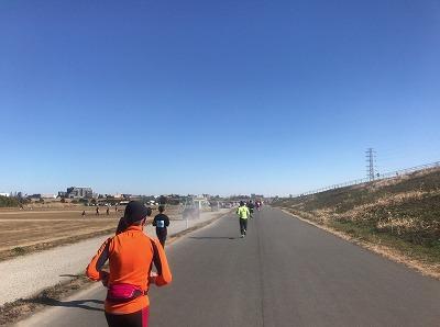 第19回ハイテクハーフマラソン15キロ地点