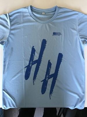 第19回ハイテクハーフマラソン完走Tシャツ