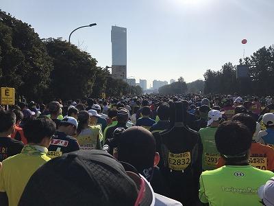 第42回サンスポ千葉マリンマラソンスタート5分前