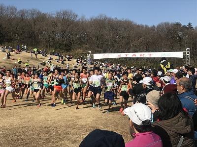 第43回森林公園完走マラソン5キロスタート