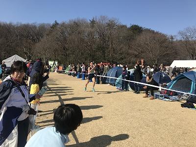 第43回森林公園完走マラソン5キロ1位の選手