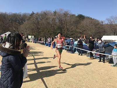 第43回森林公園完走マラソン5キロエムタカシさん