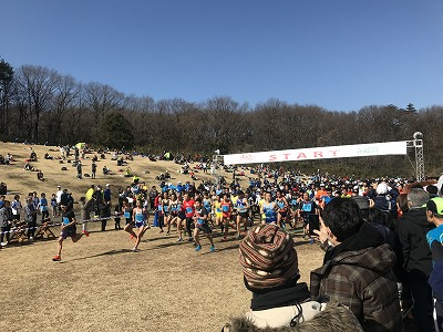 第43回森林公園完走マラソン10キロスタート
