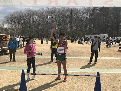 第43回森林公園完走マラソンハーフ2組目スタート