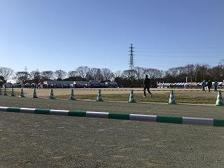 第4回久喜マラソン久喜市総合運動公園