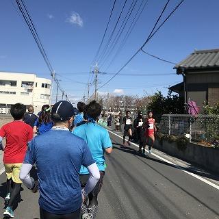 第4回久喜マラソンレース中川内優輝選手