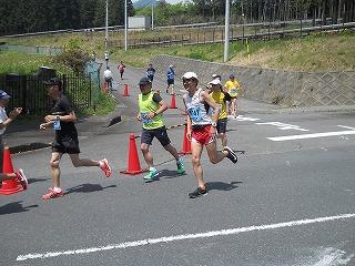 第43回富士裾野高原マラソン大会レース中