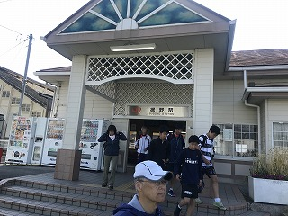 第43回富士裾野高原マラソンの御殿場線