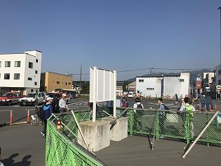 第43回富士裾野高原マラソンの裾野駅