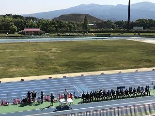 第43回富士裾野高原マラソンの開会式