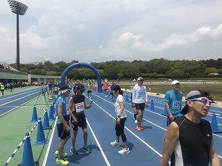 富士裾野高原マラソン大会レース後